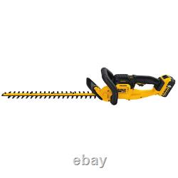 20-Volt MAX Lithium-Ion Cordless 22 in. Hedge Trimmer with (1) 5.0Ah Battery and