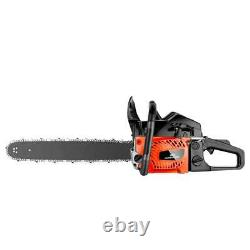 3.5HP Guide Board Chainsaw Gasoline Powered Handheld Chain Saw 62CC Engine 2021
