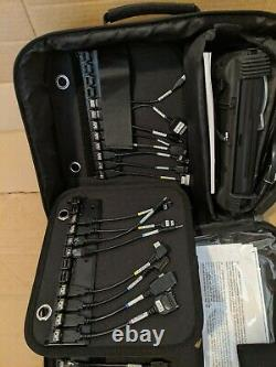 Cellebrite handheld, case, cables, power adapters, manuals, CD and much more