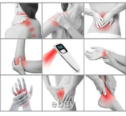 Cold Laser Therapy Device Powerful Handheld GUARANTEE Pain Relief WithFREE Glasses