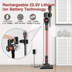 Cordless Vacuum Cleaner, Max Power 80AW Electric Broom H12 Level Advanced Filter
