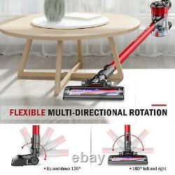 Cordless Vacuum, ONSON Stick Vacuum Cleaner, 150W Powerful Cleaning Lightweight