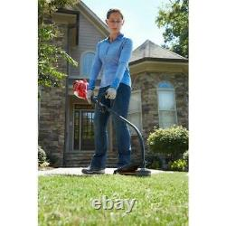 Curved Shaft Weed Eater Grass Trimmer 2-Cycle 26 CC Clutched Engine Gas Powered