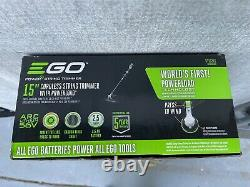 EGO 56V Cordless String Trimmer ST1520S ST1520 Power Load Carbon BARE TOOL ONLY