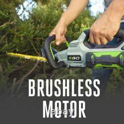 EGO POWER+ 56-Volt 24-in Dual Cordless Electric Hedge Trimmer 2.5 Ah (HT2411)