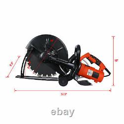 Electric Power Handheld 14 Wet/Dry Concrete Cut Off Saw Cutter /WaterTube&Blade