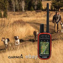 Garmin Alpha 100 GPS Track Handheld / TT 15 Mini Dog with Wearable4U Power Pack