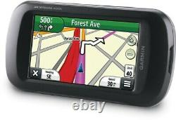 Garmin Montana 650t Handheld GPS + Auto Friction Mount Kit with Power Cable Bundle