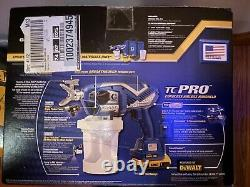 Graco TC Pro Cordless Airless Paint Sprayer, 17N166, Dewalt Powered, Brand New