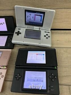 Handheld Console Lot Of 6 Untested PSP Nintendo DS DSI Sony PSP. All Power On