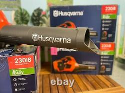 Husqvarna 230iB Battery Powered Handheld Leaf Blower Kit with Battery & Charger