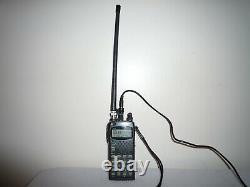 Icom Dual Band Handheld Transceiver with Power Cord & Antenna Model IC-W32A