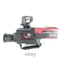 JVC GR-C1U VHS-C Video Camera Back to the Future FOR PARTS- POWERS ON READ