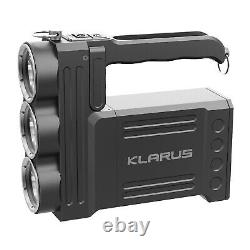KLARUS RS80GT 10000 High Lumen CREE XHP70.2 LED Powerful Rechargeable Flashlight