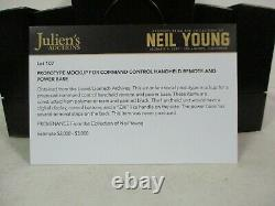 Lionel Prototype Mockup Command Control Handheld Remote Power Base Neil Young