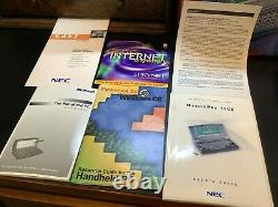 NEC MobilePro 750c Handheld PC 80MHz with AC power adapter & VGA cable MIB