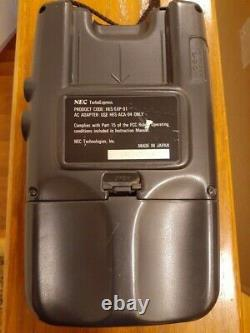 NEC Turbo Express TurboGrafx-16 Handheld Console AS IS Powers On