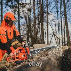 NEW 62CC 3.5HP Guide Board Chainsaw Gasoline Powered Handheld Chain Saw Stroke