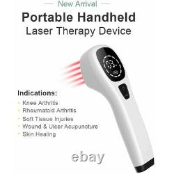 New LLLT 808nm Cold Light Pain Relief Powerful Handheld Physical Therapy Device
