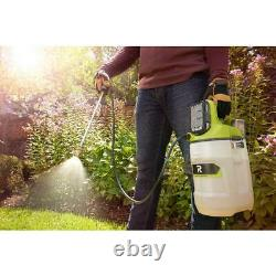 ONE+ 18-V Lithium-Ion Cordless 2 Gal. Chemical Sprayer W 2.0 Ah Battery Charger