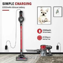 ONSON Cordless Vacuum Stick Powerful Cleaning Lightweight Handheld Rechargeable
