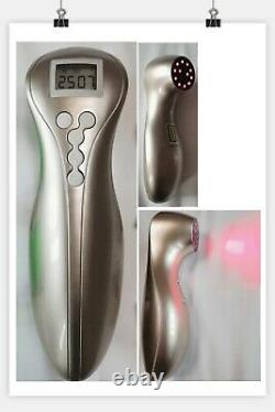Powerful Luxury gold Pain Relief Cold Laser Therapy, Portable Handheld device