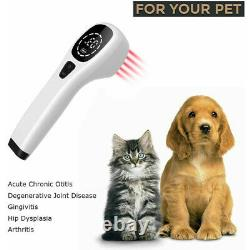 Powerful Newest 808nm Pain Relief Cold Laser Therapy, Portable Handheld Device