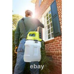RYOBI ONE+ 18-Volt Lithium-Ion Cordless 2 Gal. Chemical Sprayer with 2Ah Battery