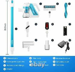 SIMPFREE-Animal Cordless Vacuum Cleaner 5-IN-1, Powerful&Lightweight Home`5 in 1