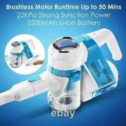 SIMPFREE Animal Cordless Vacuum Cleaner 5-IN-1 Powerful & Lightweight NEW Choice
