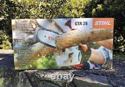 STIHL GTA 26 Handheld Pruner Chainsaw Battery Powered withcarry case only 45