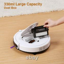 Smart Vacuum Cleaner Powerful Auto Robot Carpet Pet Hair Sweeper +Remote Control