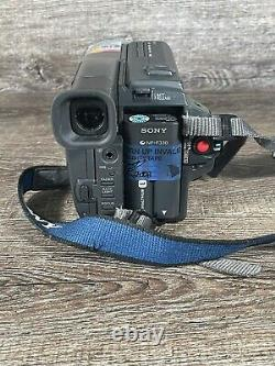 Sony Handycam CCD-TRV58 Hi-8 Analog Camcorder (Tested)new power cord-Sold As-Is