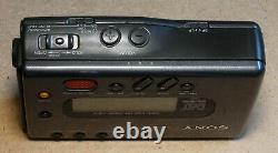 Sony TCD-D7 Portable DAT Recorder Walkman with Power Supply Tested and Working