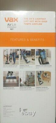 Vax Air Lift Steerable Pet Upright Vacuum Cleaner Powerful 950W Express Delivery