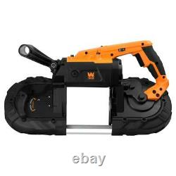 Wen Portable Band Saw Lightweight Variable Speed Handheld Powerful 10 Amp 5 in