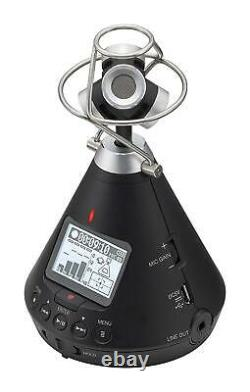 ZOOM Handy Recorder H3-VR 360 Virtual Reality Audio Recorder New in Box